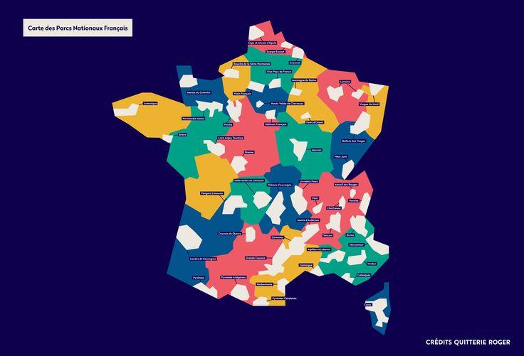 Carte parcs nationaux france - safari de proximité