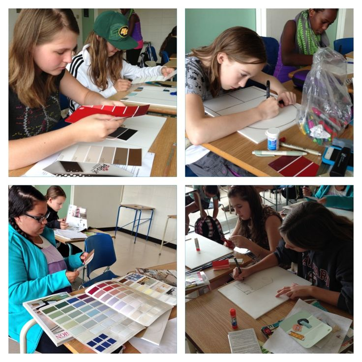 Kids In The NAIT Girls Design Summer Camp Are Learning All About Interior