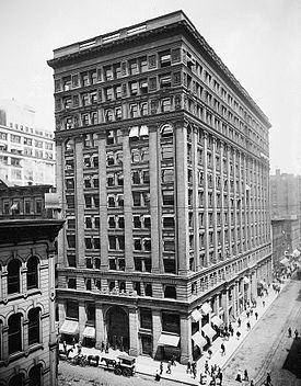 1885 Chicago 39 S Steel Frame Home Insurance Building Is The