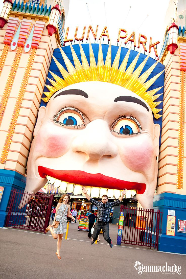 History Of The Many Faces Luna Park