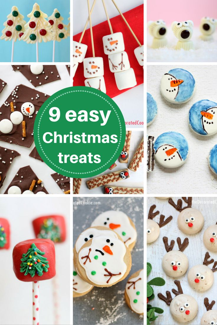 Roundup 9 Easy Christmas Treat Ideas More Christmas