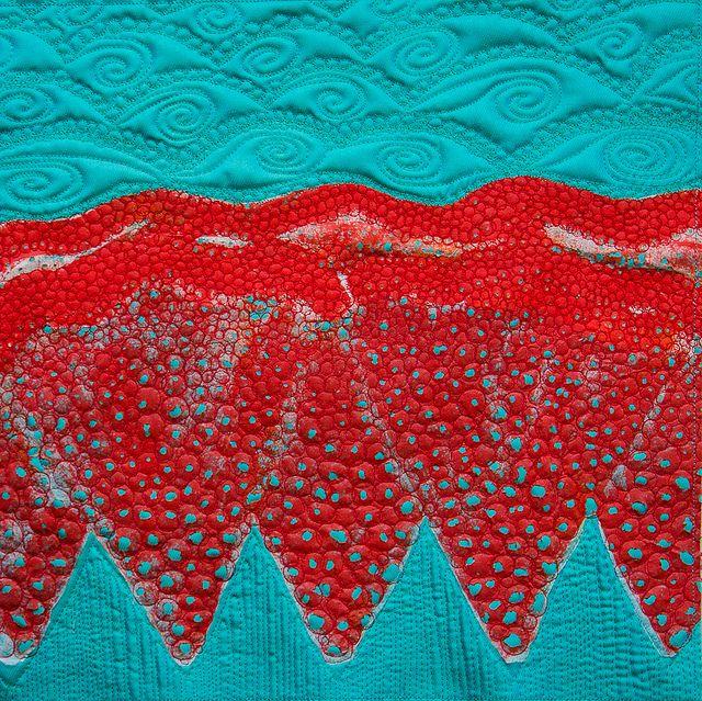 Lutradur quilt
