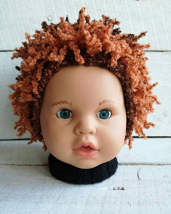 Halloween hat Baby pageant hair hat Happy Fun Hat Orange