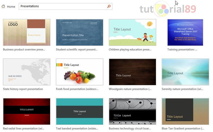 koleksi 249 template Presentasi PowerPoint gratis