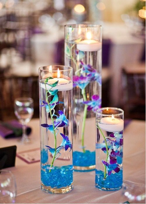Simple DIY Decoration #flowers, #candles, #DIY, #homedecor, https://facebook.com/apps/application.php?id=106186096099420