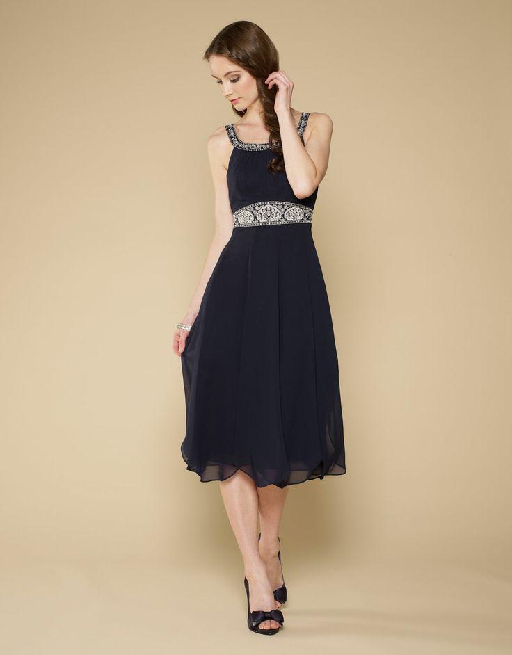 Ariel Dress | Navy | Monsoon