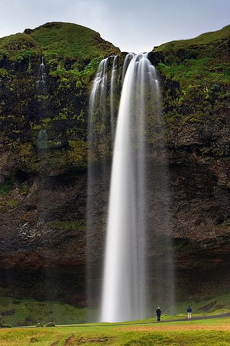 Seljalandsfoss is a waterfall in south Iceland. Seljalandsfoss is located between the town of Selfoss and another famous waterfall – Skógafossone, it is about 60 meters tall. There is a trail leading behind the falls, which makes this place an endless source of photo ops and quite popular around photographers, but you'll need to wipe the camera lens and shoot as quickly as you can due to the spay of water.
