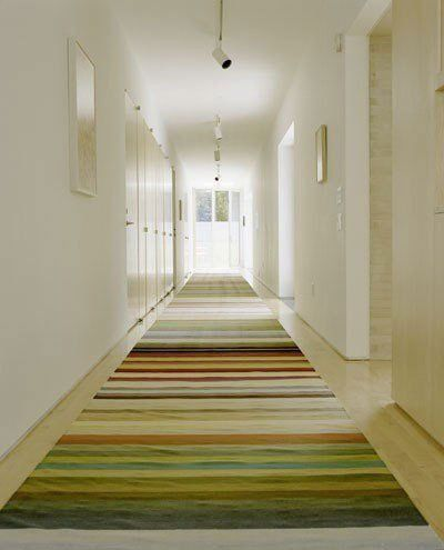 domino what to do with your long narrow hallway dream home rh pinterest com