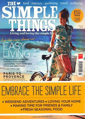 The Simple Things Magazine Issue 11  The Simple Things is a UK Magazine all about Living and Loving the Simple Lif... $14.00 #thesimplethings