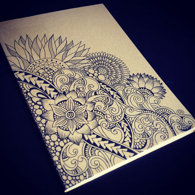 Pattern-drawing pattern. It's like a meditation/prayer for me.