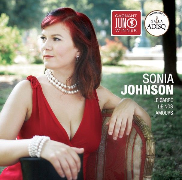 Sonia Johnson's Juno-award-winning album, Le Carre de nos Amours, came out of her pushing herself to improve her songwriting.