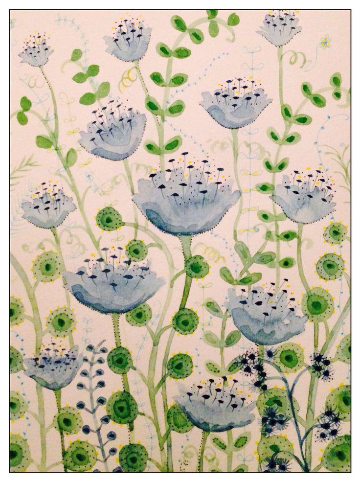 Cornflowers By rachael dunn