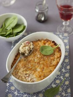 Gratin de crozets savoyard - Recette de cuisine Marmiton : une recette