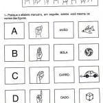 Atividades para deficientes auditivos libras e sinais | Vest Decor