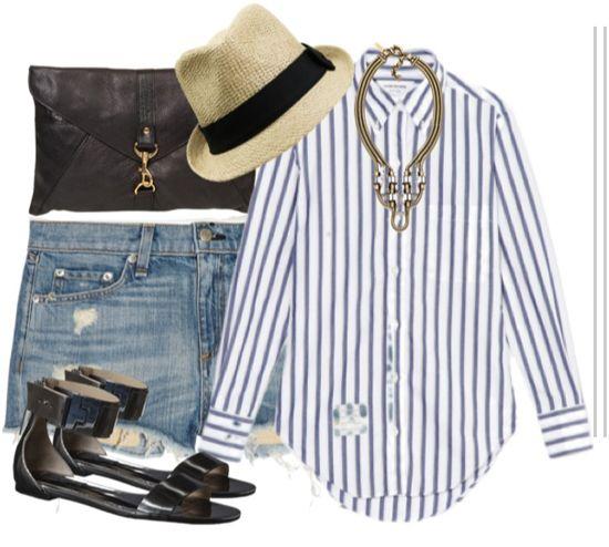 Versatile Wardrobe Staple: Vertical Striped Shirts