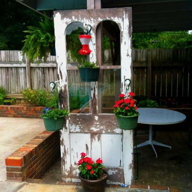Ideas for old doors   Outdoor Living   Pinterest   Doors
