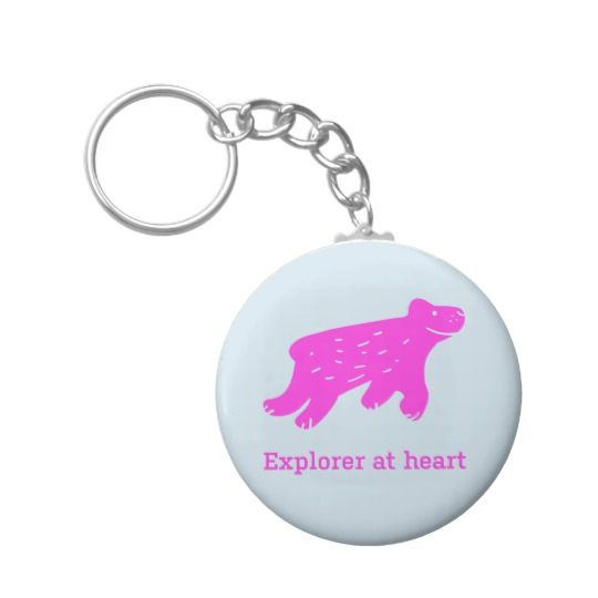 Keychain with dog. Buy here: https://www.zazzle.com/keychain_explorer_at_heart-146015317018902360