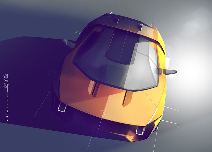 Lamborghini GT on Behance