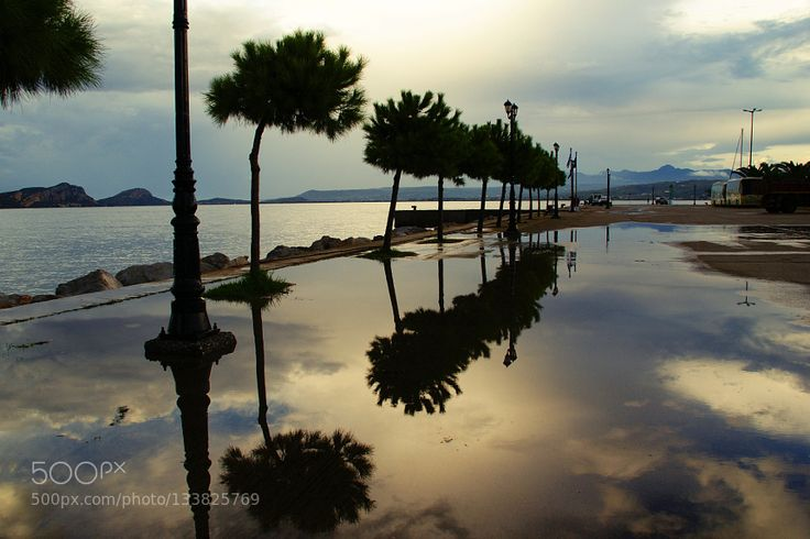After the storm ... - Pinned by Mak Khalaf Pylos Messinia Peloponissos Greece Nature bluecloudsgreecelightreflectionsskysunsettraveltreeswater by ChristosTheodorou