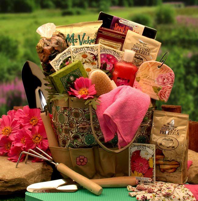 Gardening gift baskets gardening gift baskets corporate for Gardening tools gift basket