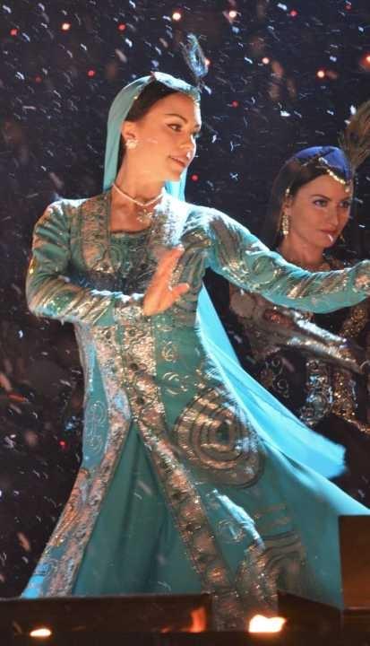 Eldfesten / Chaharshanbe Suri 2013 — Parvaz Dance Ensemble from Layali Oriental Dance Academy - Oriental / Persian dance — at Kungsträdgården, Stockholm, Sweden