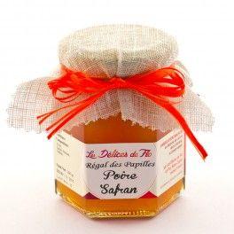 Confiture Poire au  Safran - Les delices de Flo (top Elisabeth de Meurville)