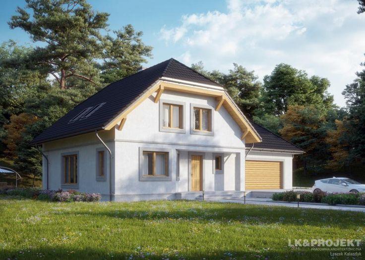 LK&676  #project #houseproject #house #modern #architecture #polisharchitecture #homesweethome #singlefamilyhouse #exterior #build #dreamhome #dreamhouse #design #villa #residence