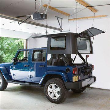 Harken Jeep Storage Hoister System, Garage Ceiling Pulley Hoist