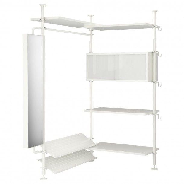 Slaapkamer | goedkope oplossing voor inloopkast, ikea Door HomeSweetHome