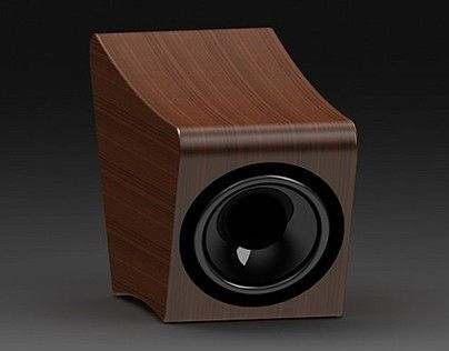 """Check out new work on my @Behance portfolio: """"Subwoofer VS1002"""" http://on.be.net/1LKiCwv"""