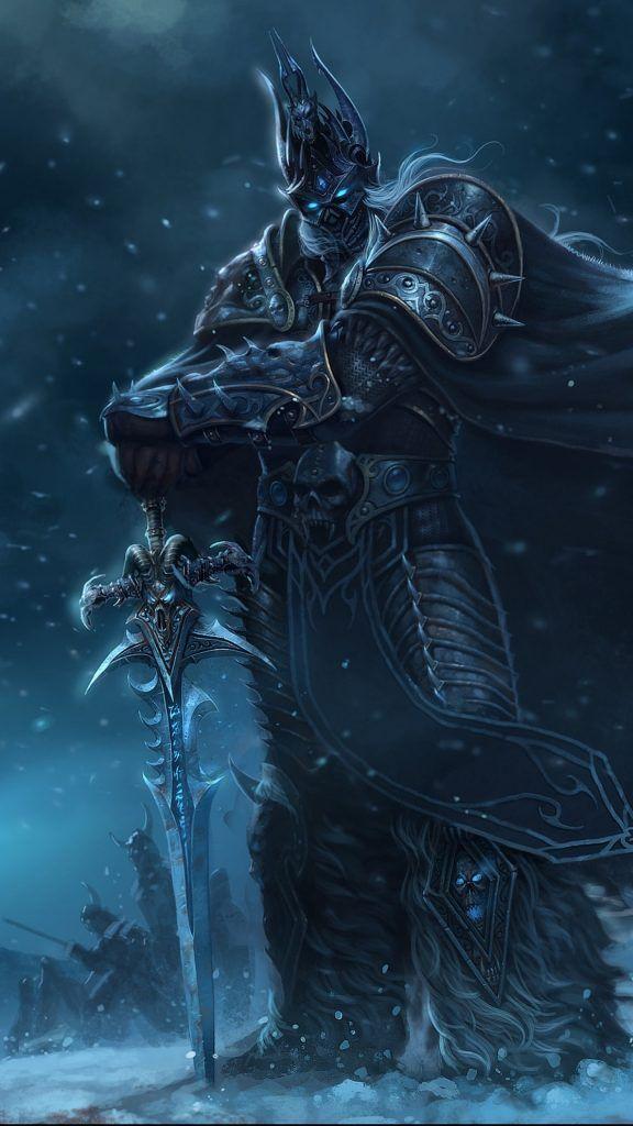 The Lich King Wallpaper 83 Best Images Full Hd Wallpaper World Of Warcraft Karanlik Sanat Sanat