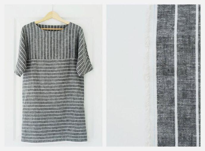 SALLYJSHIM - SALLYJSHIM BLOG - [MAKE] SIMPLE DRESS from nooy Japanese sewing book (ISBN 978-4-579-11298-2).