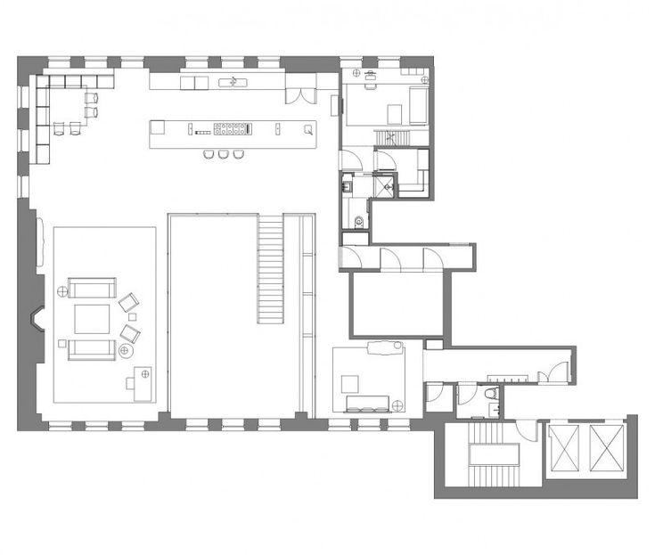 62 best Loft - Quelles idées du0027aménagement ? images on Pinterest - plan cuisine restaurant normes