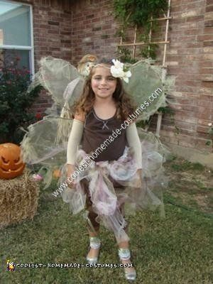 Coolest Homemade Woodland Fairy Halloween Costume Idea Alaya