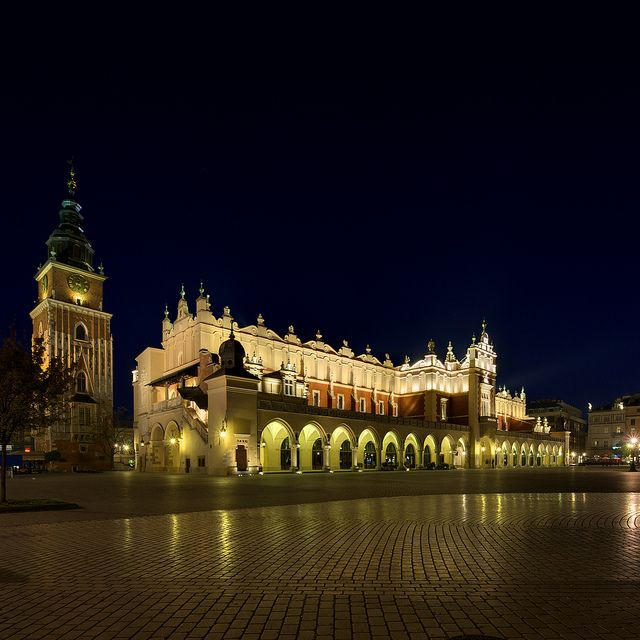 Main Square in Krakow, Poland....literally my favorite place in the entire world