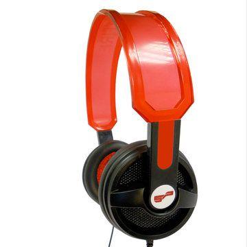Headphones Red  by Spitfire Design