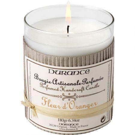 Bougie Durance Fleur d'oranger