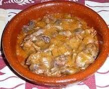 Receta Mollejas de pollo en salsa por Nolose - Receta de la categoria Aperitivos y tapas Receta Mollejas de pollo en salsa por Nolose - Receta de la categoria Aperitivos y tapas