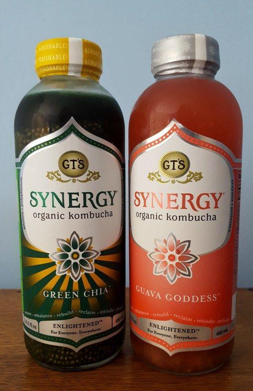GT's Synergy Organic Kombucha