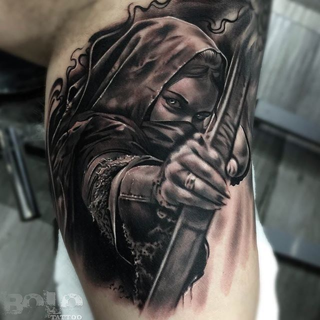 Image result for warrior tattoos