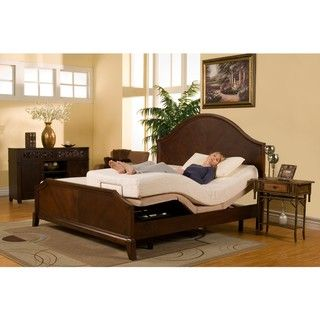 Sleep Zone Supreme 10 Inch Latex And Memory Foam Split King Size Adjustable Mattress Set By