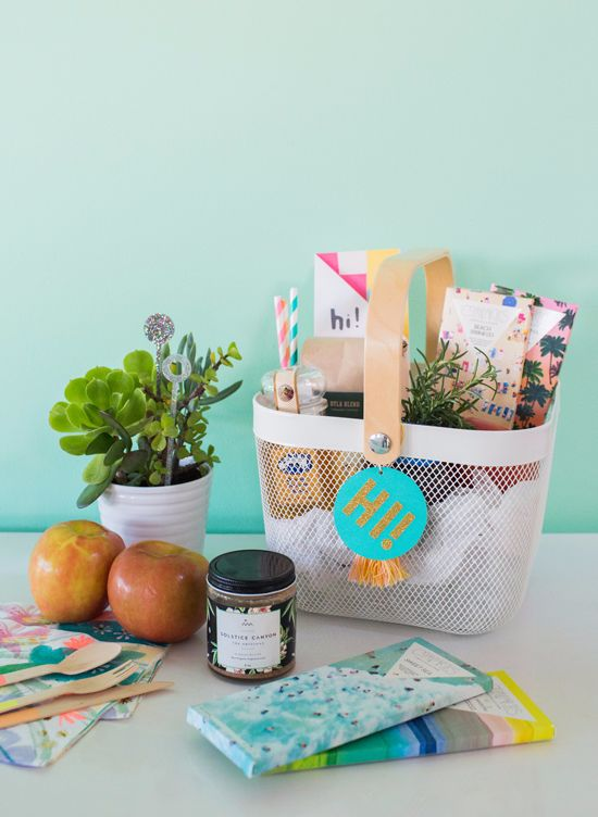 "a ""welcome neighbor"" gift... 