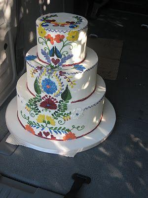 Spanish wedding cake designs