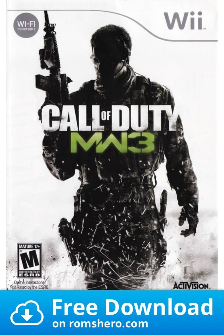 Download Call Of Duty Modern Warfare 3 Nintendo Wii Wii Isos Rom Modern Warfare Wii Call Of Duty