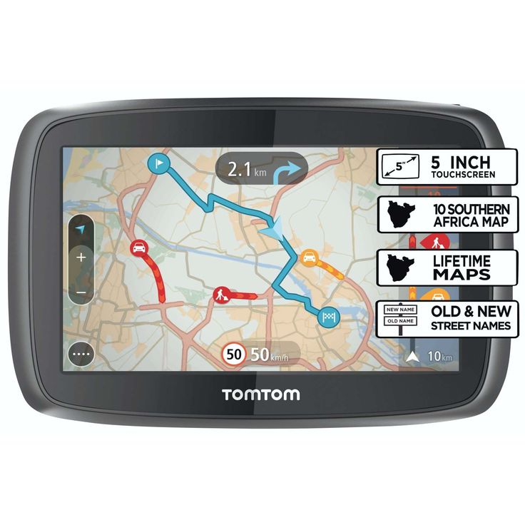 TOM TOM - TomTom Start 50 southern Africa - 5 INCH TOUCH SCREEN DISPLAY   LIFE TIME FREE MAP UPDATES   ADVANCED LANE GUIDANCE   2 Year warranty