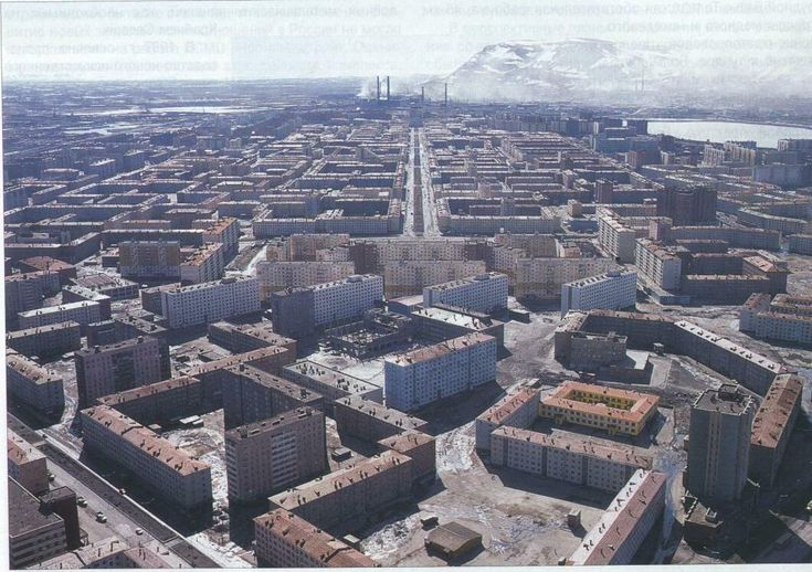Norilsk - an extremely depressing Russian city-wasteland in Siberia