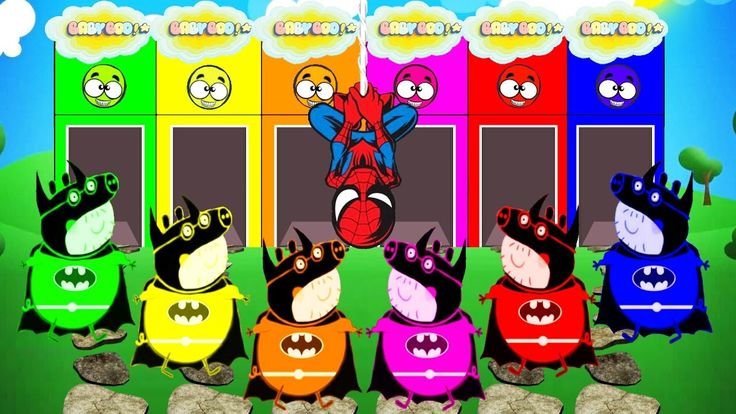 Batman Colours For Kids To Learn