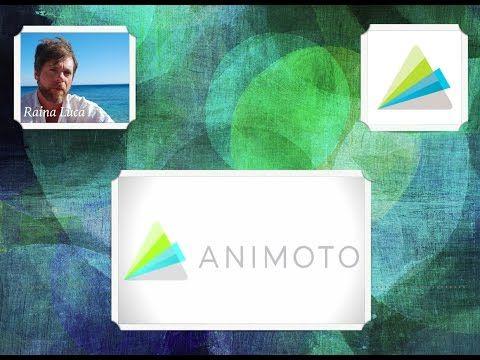 App per prof #17 ANIMOTO (Video storytelling) - YouTube