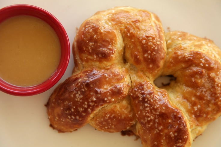 no big dill: Pretzels