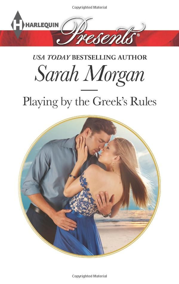Amazon.com: Playing by the Greek's Rules (Harlequin Presents) (9780373133130): Sarah Morgan: Books
